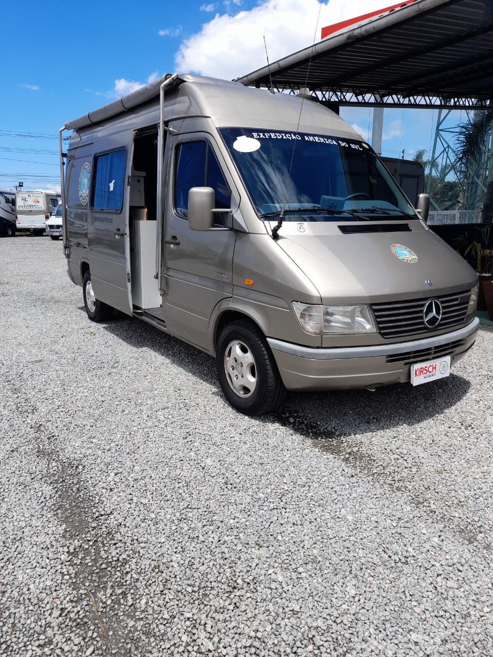 Motor Home Mercedes Benz Vettura